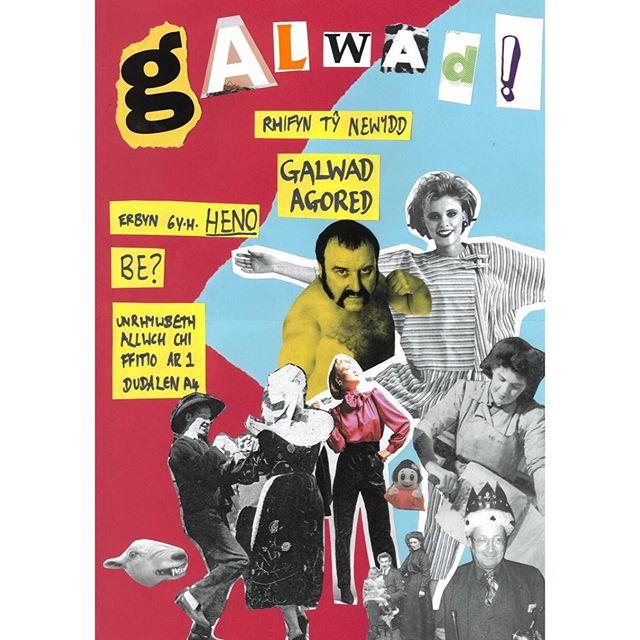 GALWAD AGORED_ Mae criw encil y Stamp yn