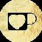 Gold Ko-fi Button