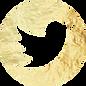 Gold Twitter Button