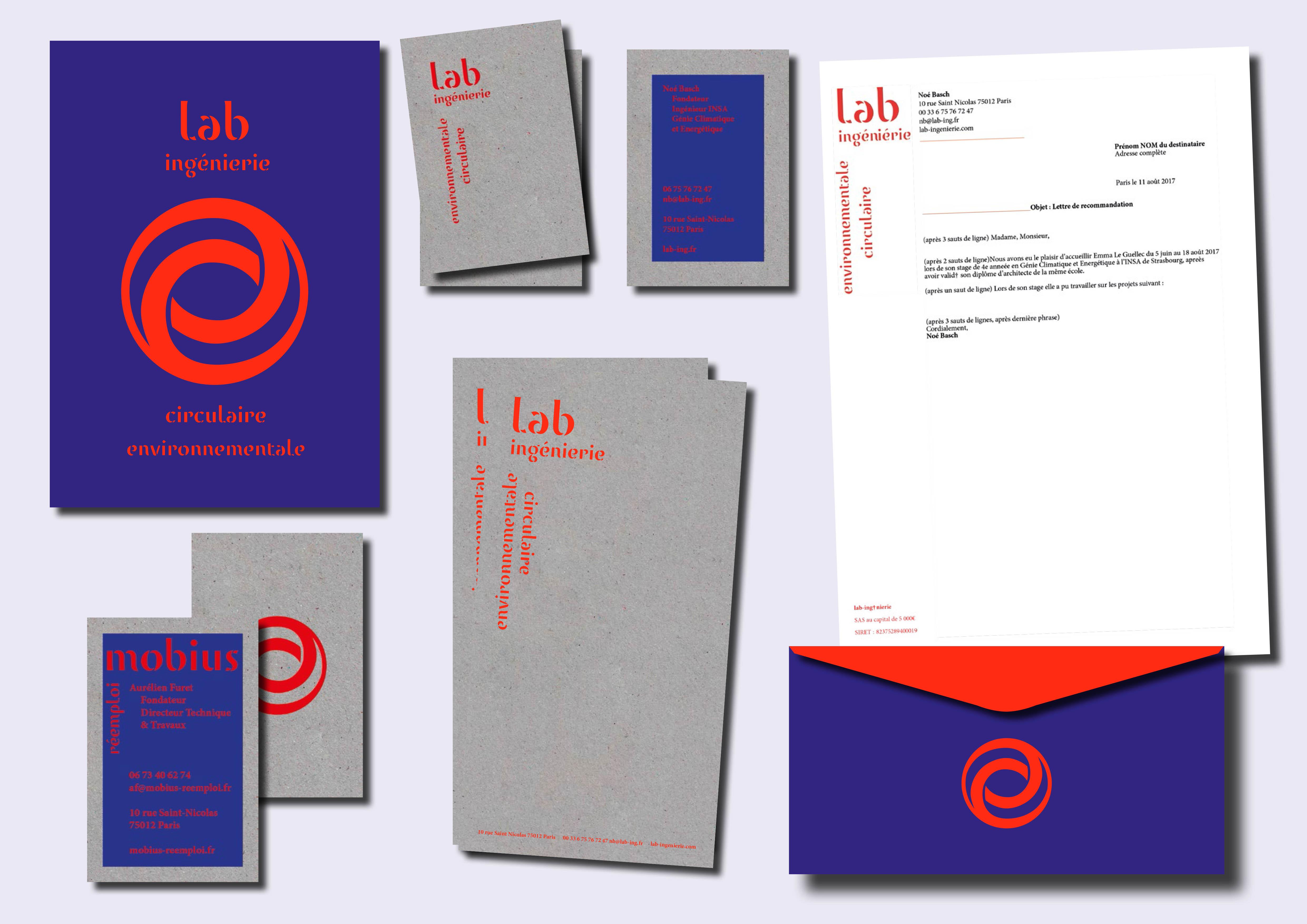 Lab ingénierie - Mobius