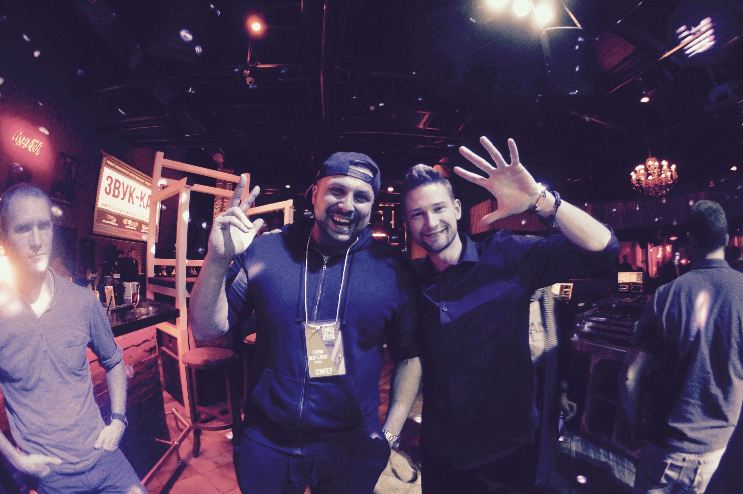 С одним из топовых Event DJ Европы