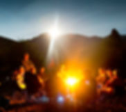 Camp Fire, Nature, Middle Fork, Salmon River, Idaho