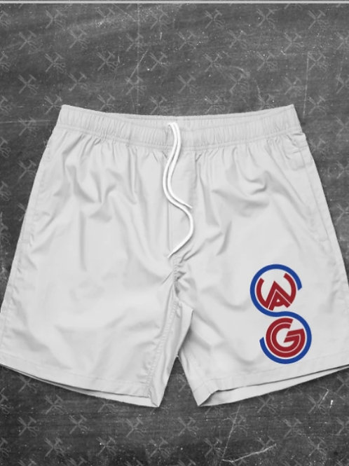 Swagg Embroidered Beach Shorts (July 4th Edition)