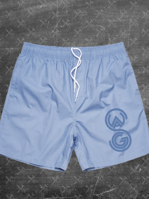 Swagg Embroidered Beach Shorts