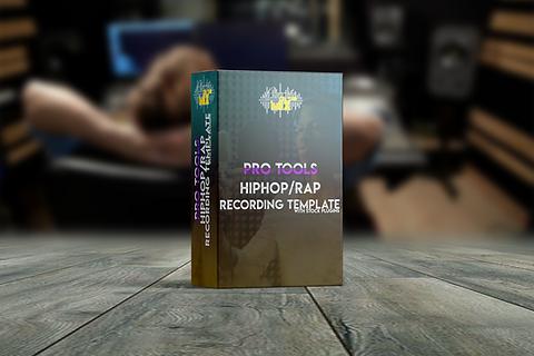 Basic Hip-Hop/Rap Protools Recording Template (With stock plugins)