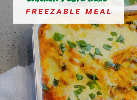 Family Favourite: Pasta Bake Freezable Meals
