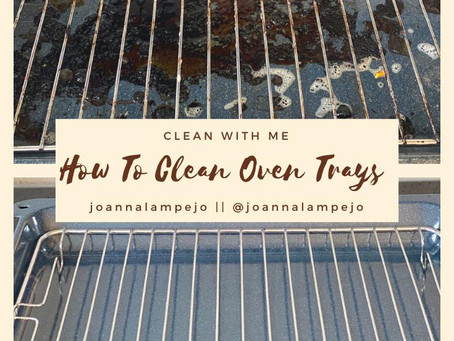 How To Clean Oven Trays - Inexpensive and Easy