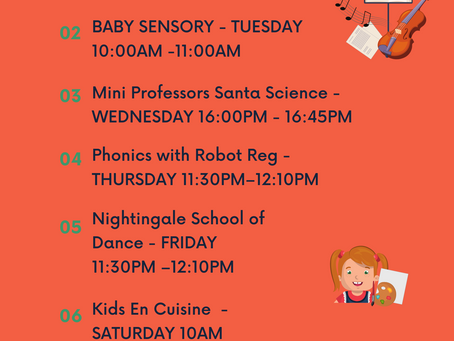Tier 4: Lockdown Baby And Toddler Classes