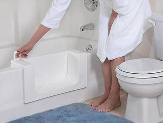 bathtub conversion, shower conversion, walk in bathtub