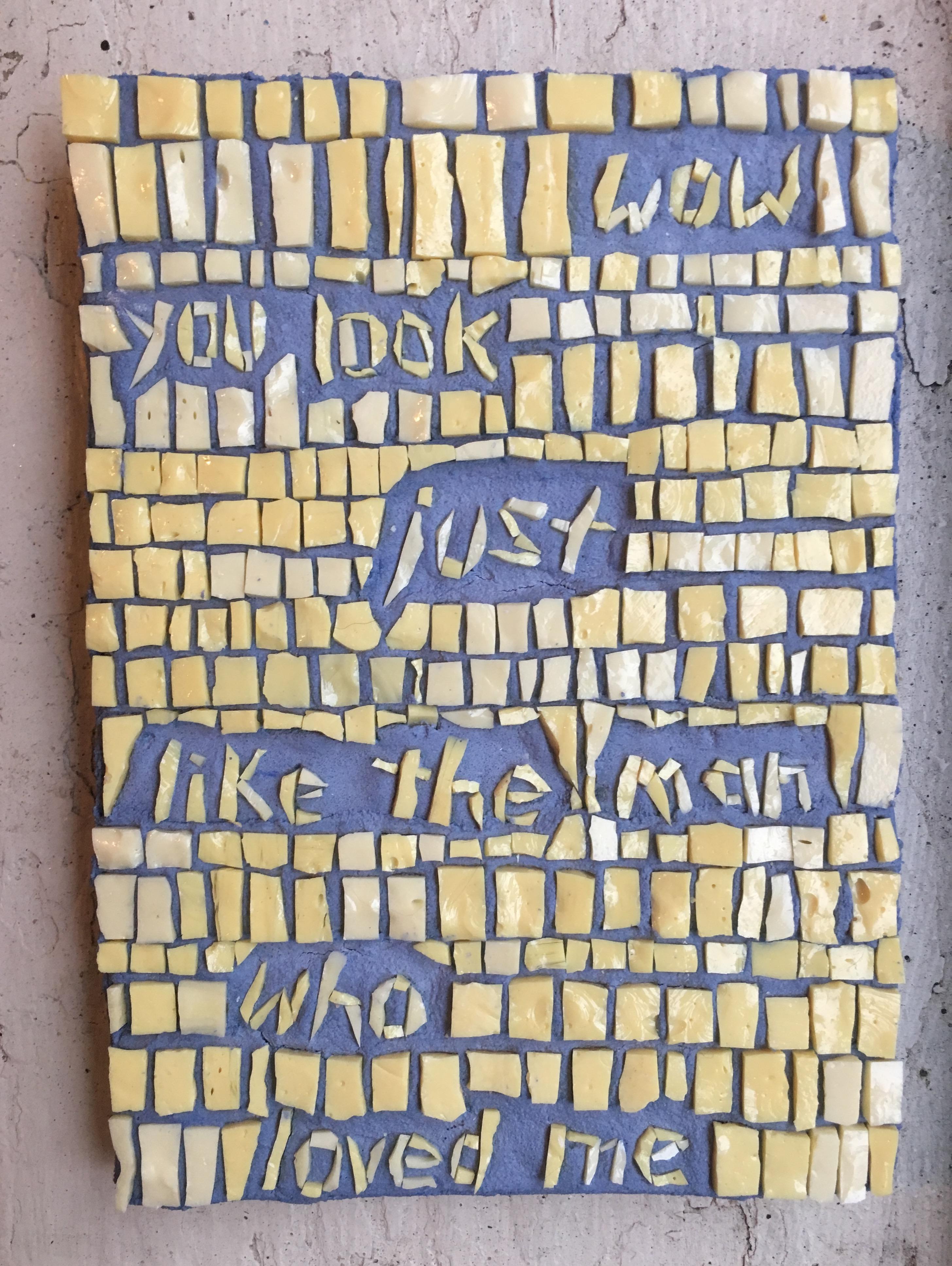 Mosaic Poem 5 (wow)