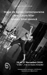 Stage avec Laura Vilar organisé par l'association Noun Montpellier
