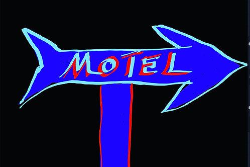 "Motel - 18"" x 24"" Print"