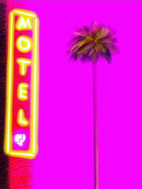"""Heartbreak Motel - 16"""" x 20""""  Print"""