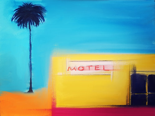 "Motel California - 18"" x 24""Print"