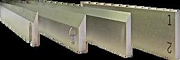 industrial flex cutting converting machine blades knife anvil holders cut stations