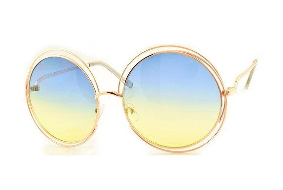 Round Rainbow Sunglasses