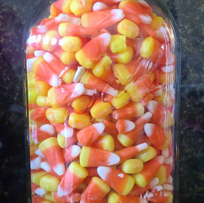 October Candy Corn Contest ends Fri. Oct. 23rd, 2020