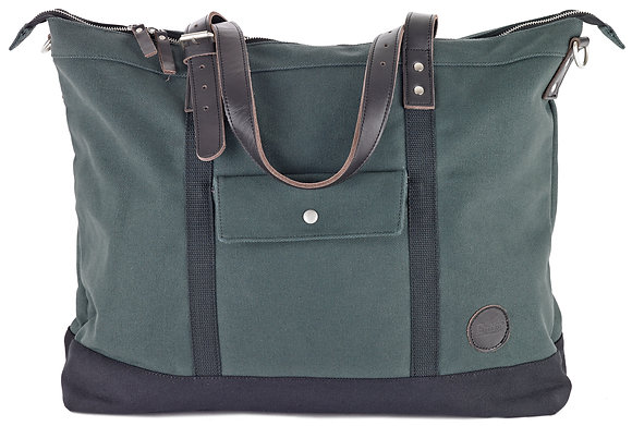 Army Green Zip Tote