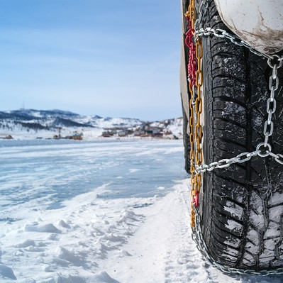 Using RV Snow Tire Chains