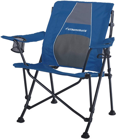 Folding Camp Chair with Lumbar Support