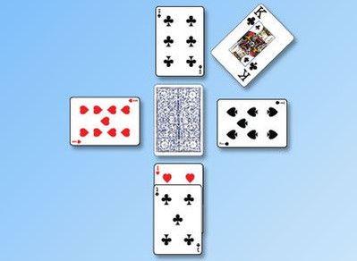 Kings on the Corner Card Game