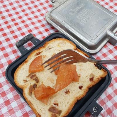 Campfire Apple Pies with Cinnamon Raisin Bread