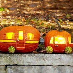 RV Pumpkin Carving Ideas