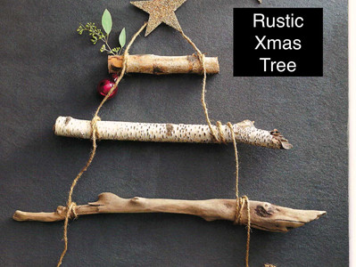 Rustic Xmas Tree