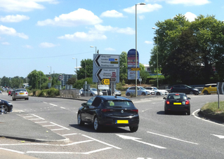 Brighton Hill roundabout changes – will they benefit cycling?