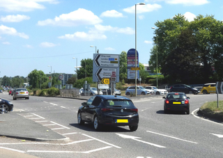 A public consultation on changes to this roundabout will be held 3 Sept to 1 Oct.