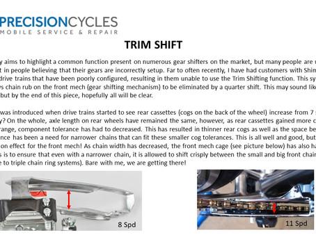 Gear Trim Shift Explained