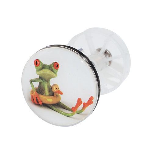青蛙 精美排水口塞 008