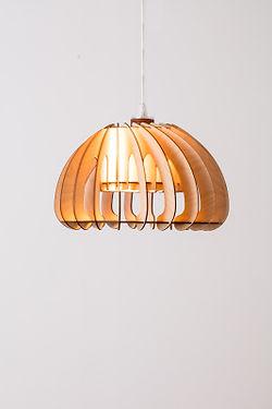 Designer lahandmadebyhenningmper fra  optimal som køkkenlampe, spisestuelampe - gulvlampe eller pendel