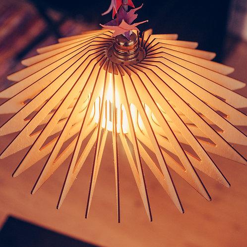 Finsk lampe i træ inspiration