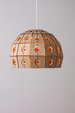Designlamper fra Dansk designvirksomhed- unik brugskunst. Handmadebyhenning-com