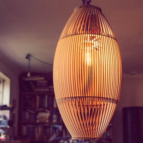 Stor flot designlampe