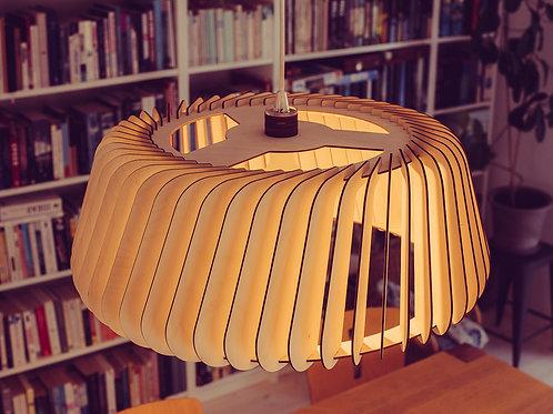 Stor lampe trælampe designlampe