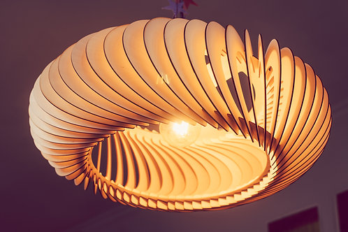 Loftslampe i dansk design