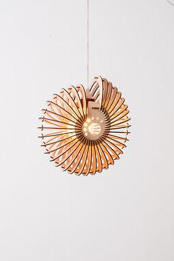 Designer lamper-nautilus design med-et-organisk-udtryk- lamp-15-handmadebyhenning-com