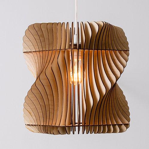 loftlampe i flot design