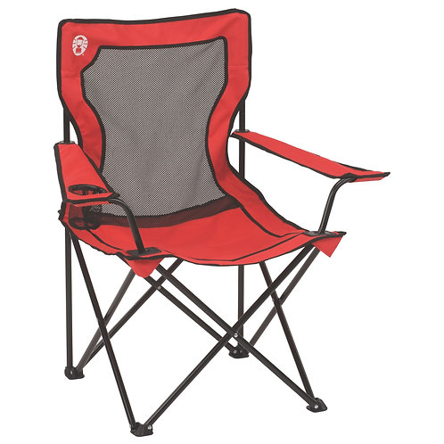 COLEMAN Red Foldable Mesh Chair 2000020258