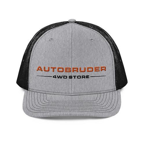 AUTOBRUDER Gray & Black Trucker Cap