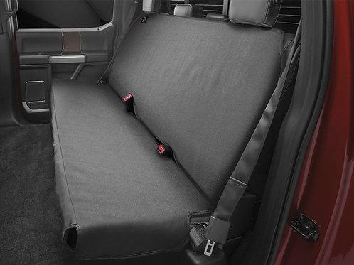 WEATHERTECH DE2021CH. Universal Black Back Seat Protector