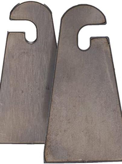 RIGID INDUSTRIES 4029 Flat Weld-on Slotted Tab