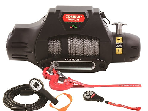 COME-UP Electric Winch SEAL Gen2 9.5rsi, 12V Synthetic Rope 295885