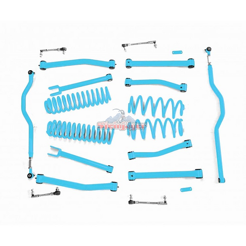 STE-J0044931. 4in Playboy Blue Lift Kit for Jeep Wrangler JK and JKU