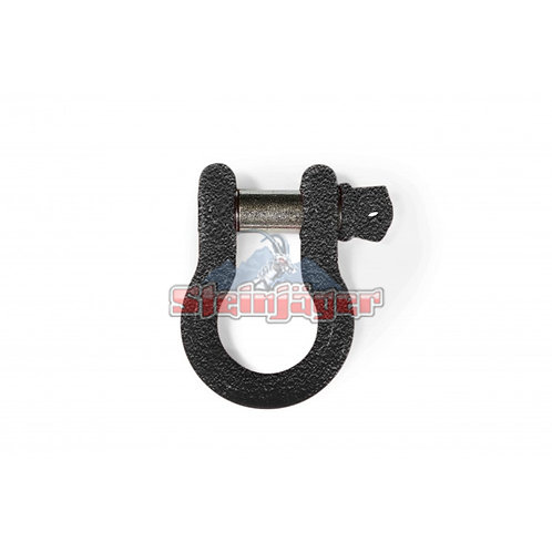 STEINJAGER Texturized Black D-ring Shackle. J0045453