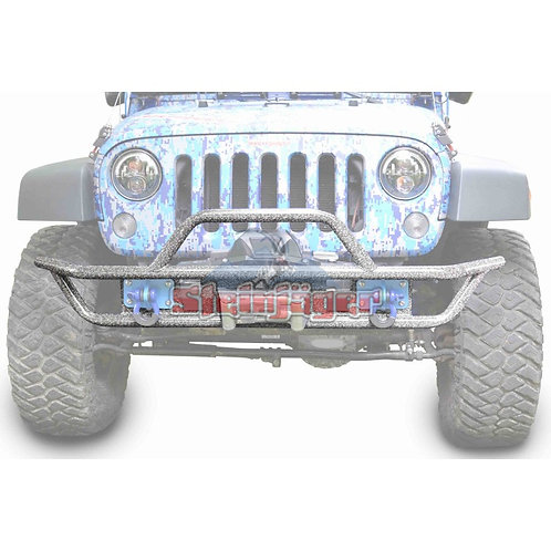 STE-J0048130. Gray Hammer Tubular Bumper for Jeep Wrangler JK