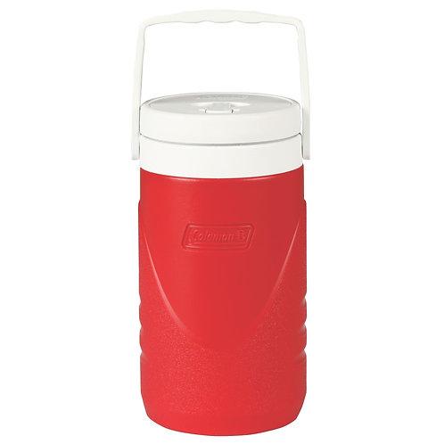 COLEMAN 3000001017 Red 1/2 Gallon Beverage Cooler 1.9L
