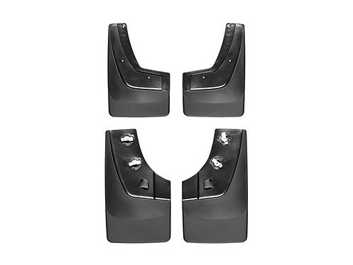 WEATHERTECH 110036-120036 Front & Rear Black 14-19 GMC Sierra / Denali